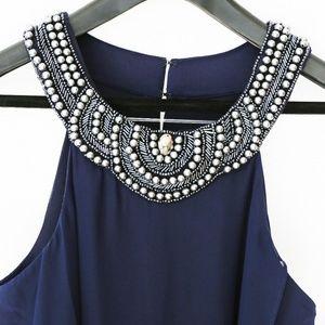 Sangria Halter Dress formal wear